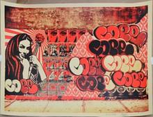 d'après Shepard FAIREY Obey & Cope 2 sérigraphie en couleurs, n° 106/450, signée en bas à droite, 46 x 61 cm.