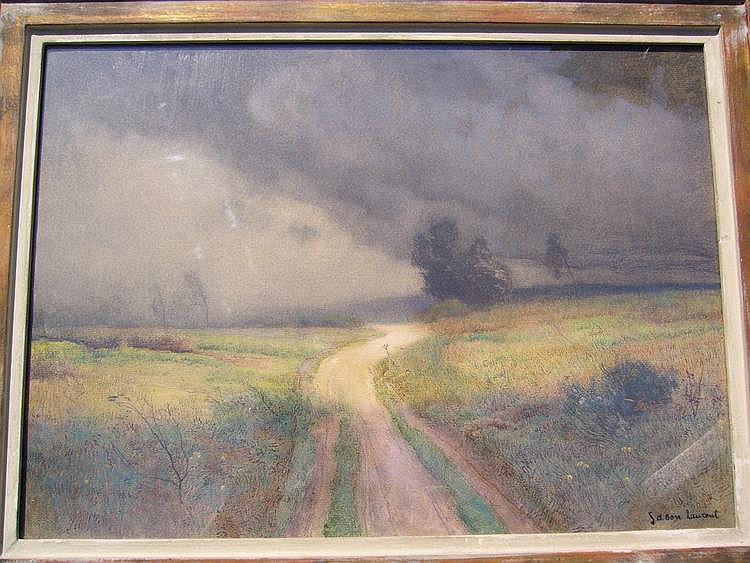 SABON Laurent Watercolor Le chemin