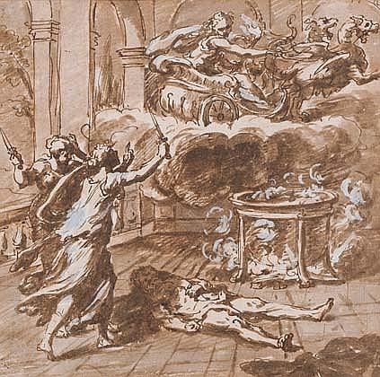 ECOLE ITALIENNE DU XVIIIÈME SIÈCLE