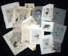 PIEM - Ensemble de 18 dessins sur calque à l'encre de chine...