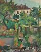 Suzanne VALADON Paysage à Montmartre (le jardin de
