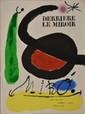 Joan MIRO Derrière le miroir, L'Oiseau solaire, L'Oiseau