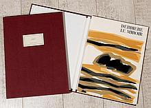 UBAC Raoul 1910-1985 DERRIERE LE MIROIR LUXE. Emboitage. Edition de tête numérotée 50/150 ex. et signée par l'artiste. Achevé d'imprimer en mars 1964. sur les presses de Maeght Imprimeur pour les lithographies originales et de Fequet et Baudier pour