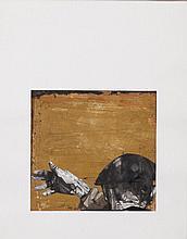 ABAD José 1942-   Technique mixte originale signée - 30 x 25 cm