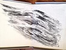 LAUBIÈS René 1924-2006   La Fable et le vent   Texte de Bernard Noël   Lithographies de René Laubiès   Numéroté au crayon 32/60   Editions Ecarts, 1994