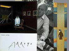 ARROYO Edouardo 1937-   Lot de 4 ouvrages : Pierre Astier, en 1982, Flammarion ; catalogue d'exposition Galerie Anton Meier en 1983, Genève; cat.d'expo. Galerie Louis Carré & Cie en 1999; cat. Centre Georges Pompidou en 1982.