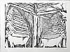 ZADKINE Ossip 1890-1967   Lithographie signée et numérotée 91/350 - 53 x 69 cm