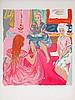 SABOURAUD Emile 1900-1996   Lithographie signée et numérotée 116/175 au crayon - 66 x 50,5 cm