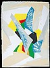 ALLIGAND Bernard 1953-   Carborundum signé, Editions Vision Nouvelle - 76,5 x 56 cm