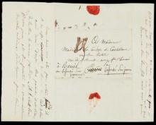 Grande Armée, campagne de Russie 17 octobre 1812. Pli date