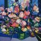 HILAIRE Camille, 1916 -2004 Bouquet aux tulipes lithographie en couleurs (accidents en haut), n° 38 / 200, signée en bas à droite. 71 x 71 cm.
