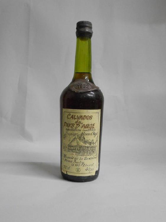 1 bouteille  CALVADOS, La Saminière  1932