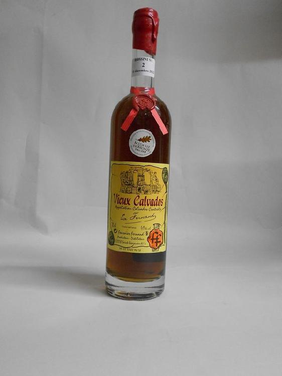 1 bouteille  CALVADOS, Fournier Fernand  40 ans