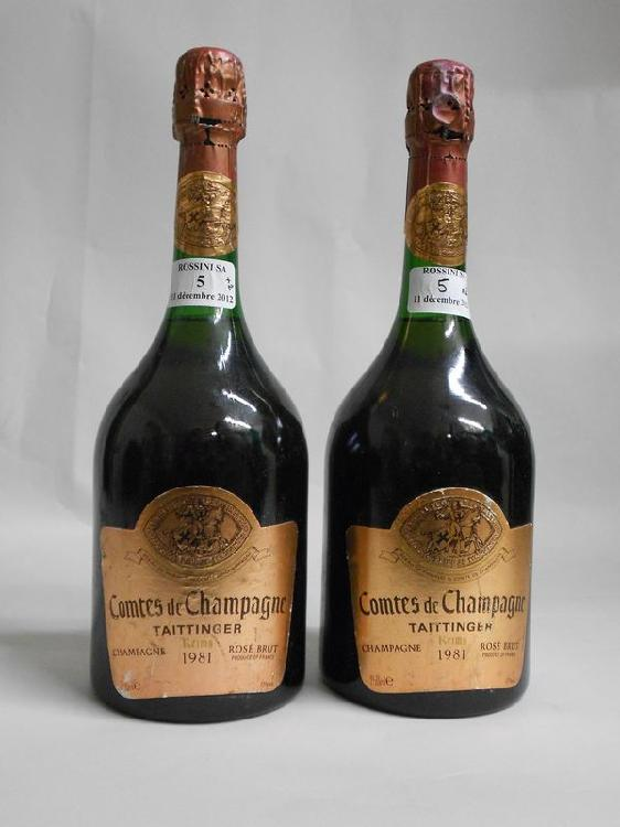 2 bouteilles  CHAMPAGNE
