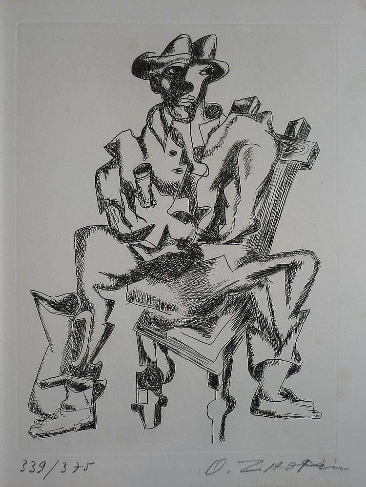 ZADKINE Ossip, 1890 -1967 L'oeuvre gravé et lithographié de Zadkine Ouvrage de Christophe CZWIKLITZER, 1967, exemplaire n° 339 - 3...