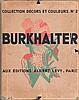 Jean BURKHALTER - Collections Décors et Couleurs n°2 - 76 motifs...