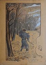 Frédéric Auguste CAZALS - Les sanglots longs des violons de...