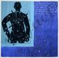 MONORY Jacques, né en 1924 Terrasse N° 9 Impression en bleu, plexiglas et douilles sur papier marouflé sur toile (douilles décollées, conservées dans un sachet), n° 21 / 50, signé en bas à droite, titré au dos,  115 x 120 cm.