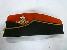 A Royal Artillery Officer's scarlet and blue side