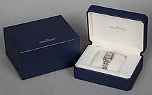 A boxed Jaeger leCoultre Reverso wristwatch 60 Mi