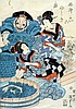 UTAGAWA KUNISADA (1786-1864) Japanese Pictures of, Utagawa Kunisada, £0