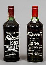 Niepoort's Vintage Port 1983 and 1974  (2)