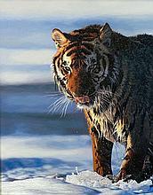*AR ABBEY WALMSLEY (born 1979) British Cold Feet Oil on board Signed 76.5 x 97 cm, framed