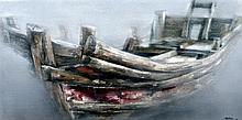 LI GOU RUI (born 1963) Chinese Journey Oil on canv