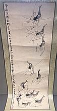 CHINESE SCHOOL (19th/20th century)  Crayfish Water