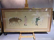 CHINESE SCHOOL (18th/19th century)  Horse Grooms W