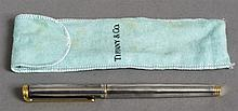 A Sterling silver Tiffany & Co. Diplomat fountain