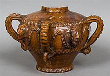 A 13th/14th century English or European pottery An
