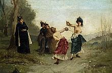After EMILE-ANTOINE BAYARD (1837-1891) French Une