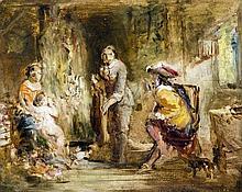 AUGUSTUS LEOPOLD EGG (1816-1863) British Interior