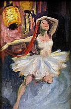 J.V.C. (20th century) Ballet Dancer with Chinese L