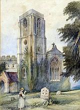 ENLGISH SCHOOL (19th century) The Grave of Ada Bre