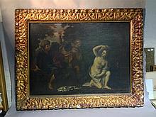 ITALIAN SCHOOL (18th century)  Biblical Scene Oil