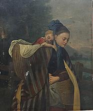 J.E. MEIERHEIM (19th century) Continental Mother a