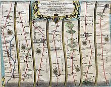 JOHN OGILBY (1600-1676) Scottish The Road From Lon
