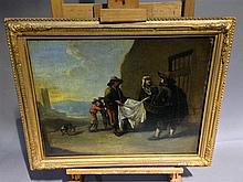 FLEMISH SCHOOL (17th/18th century) Street Vendors