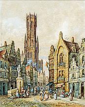 HENRI SCHAFER (1833-1916) French Bruges, Belgium;