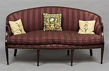 A 19th century mahogany framed Hepplewhite style s