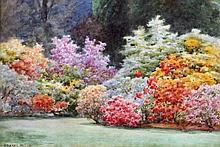 EDWARD MILLS (19th/20th century) British Garden B