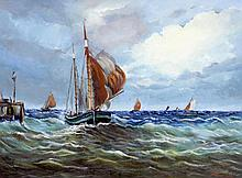 After FRANCOIS ROUX (19th century) French Shippin