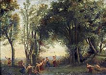 CONTINENTAL SCHOOL (19th century) Bacchanalian Fi
