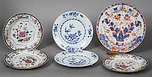 Six various 18th/19th century Chinese porcelain p