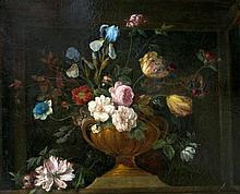 DUTCH SCHOOL (19th century) Floral Still Life Oil