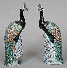 A pair of 18th/19th century Chinese porcelain mod