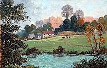 JOHN W. GOUGH (20th century) British Ludlow Castl
