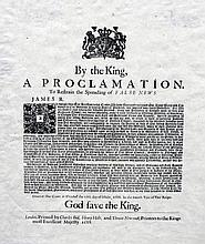 I The King, A Proclamation to Restrain the Spreading of False News Printed